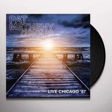 Pat Metheny Group LIVE CHICAGO 87 Vinyl Record - 180 Gram Pressing
