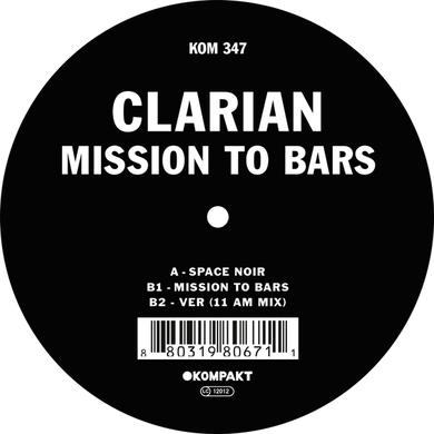 Clarian MISSION TO BARS Vinyl Record