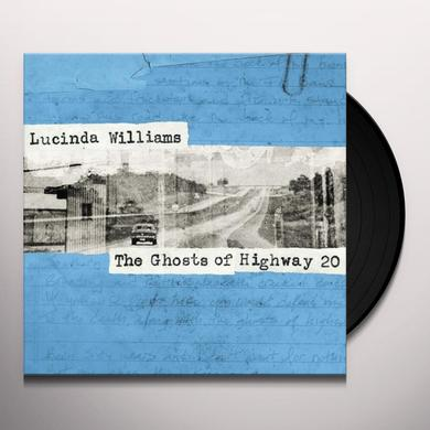 Lucinda Williams GHOSTS OF HIGHWAY 20 Vinyl Record - Gatefold Sleeve, Digital Download Included