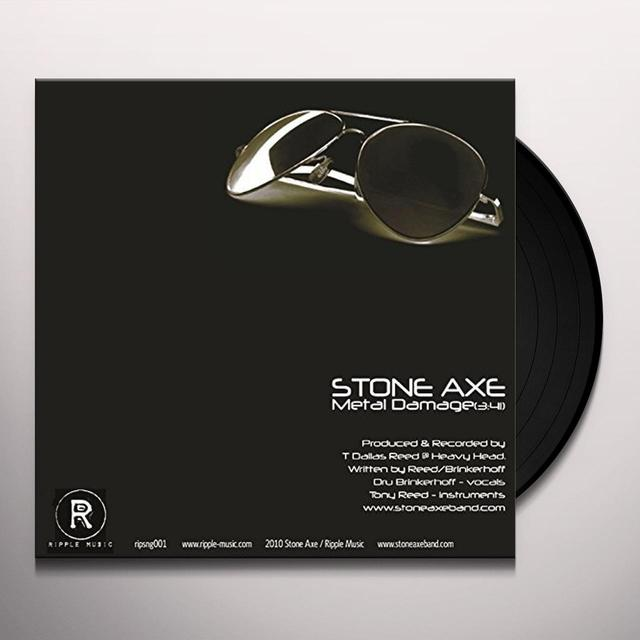 STONE AXE / MIGHTY HIGH METAL DAMAGE / DON'T PANIC IT'S ORGANIC Vinyl Record