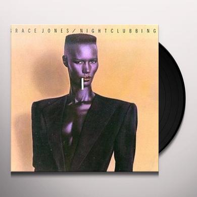 Grace Jones NIGHTCLUBBING Vinyl Record - 180 Gram Pressing, Special Edition, Reissue