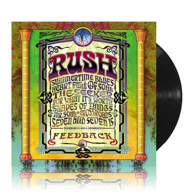 Rush FEEDBACK Vinyl Record