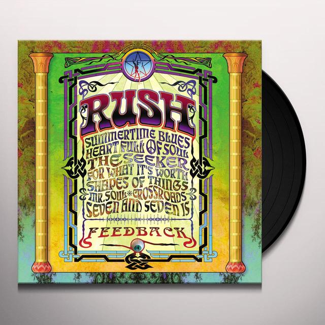 Rush FEEDBACK Vinyl Record