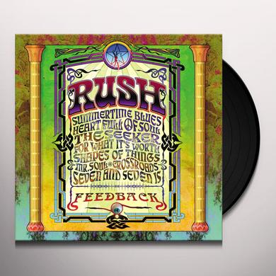Rush FEEDBACK Vinyl Record - 200 Gram Edition