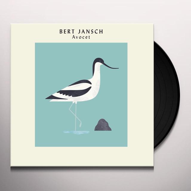 Bert Jansch AVOCET Vinyl Record - Limited Edition, Remastered