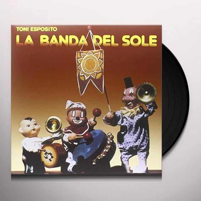 Toni Esposito LA BANDA DEL SOLE Vinyl Record - Italy Import