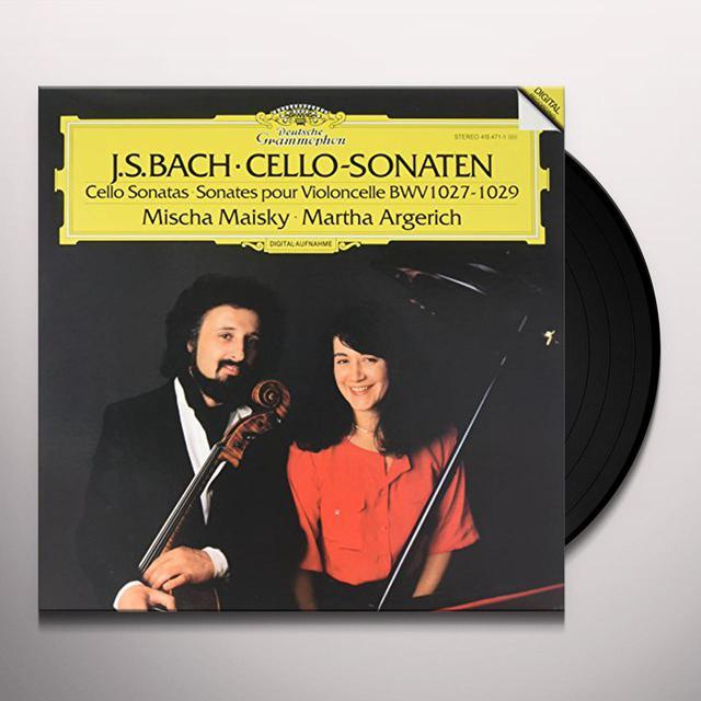 Mischa Maisky & Martha Argerich BACH : DIE CELLOSONATEN BWV 1027-1029 Vinyl Record