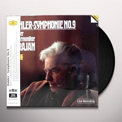 Herbert Von Karajan MAHLER: SYMPHONY NO. 9 Vinyl Record