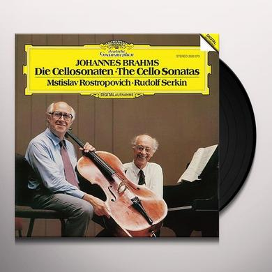Mstislav Rostropovich & Ruldof Serkin BRAHMS: DIE CELLOSONATEN, THE CELLO SONATAS Vinyl Record