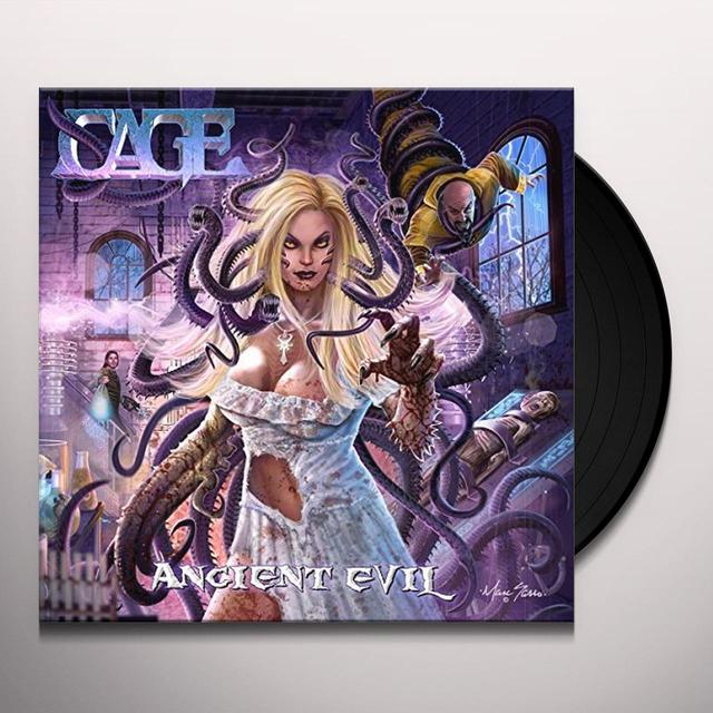 Cage ANCIENT EVIL (LP) Vinyl Record - Canada Release