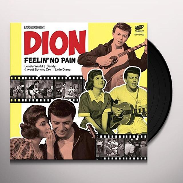 Dion FEELIN NO PAIN Vinyl Record - Spain Import