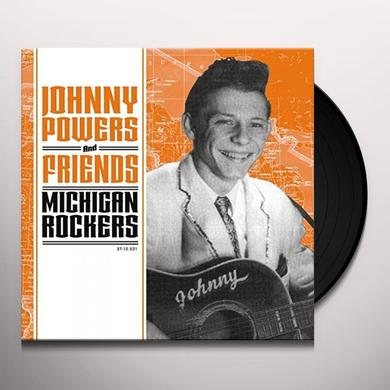 JOHNNY POWERS & FRIENDS: MICHIGAN ROCKERS / VAR Vinyl Record