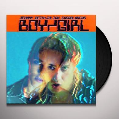 Jehnny Beth & Julian Casablancas BIY GIRL Vinyl Record - UK Import