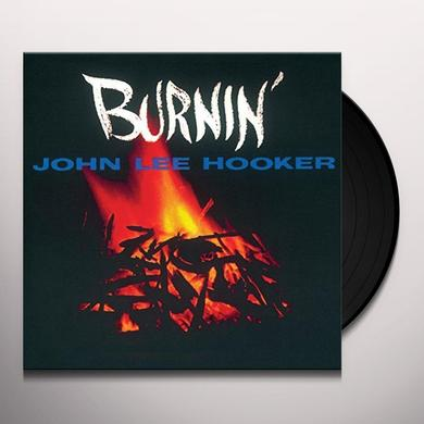 John Lee Hooker BURNIN Vinyl Record - UK Import