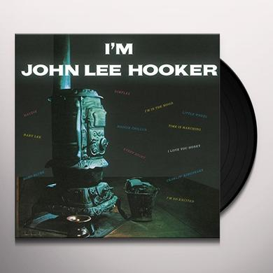 I'M JOHN LEE HOOKER Vinyl Record - UK Import