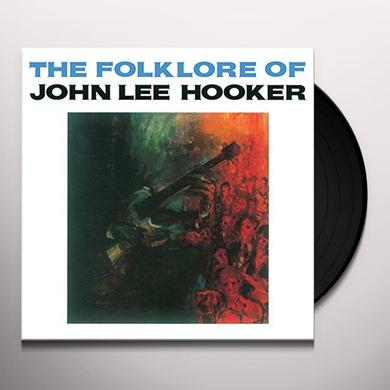 FOLK LORE OF JOHN LEE HOOKER Vinyl Record - UK Import