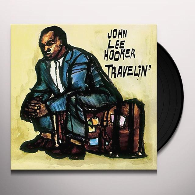 John Lee Hooker TRAVELIN Vinyl Record - UK Import