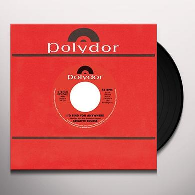 Creative Source / Lou Donaldson I'D FIND YOU ANYWHERE/YOU'RE WELCOME STOP ON BY Vinyl Record