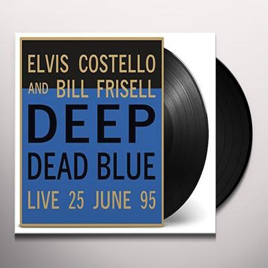 Elvis Costello & Bill Frisell DEEP DEAD BLUE - LIVE AT MELTDOWN Vinyl Record
