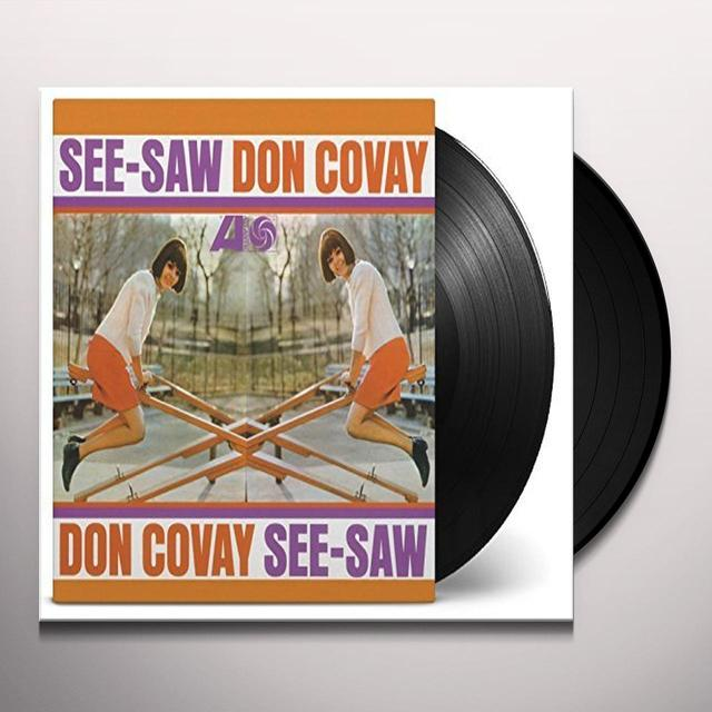 Don Covay SEE-SAW Vinyl Record - 180 Gram Pressing, Holland Import