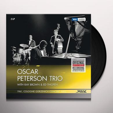 Oscar Peterson 1961 COLOGNE - GURZENICH CONCERT HALL Vinyl Record