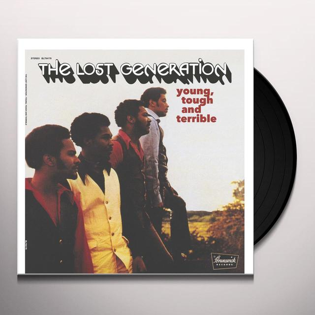 Lost Generation YOUNG TOUGH & TERRIBLE Vinyl Record - Remastered