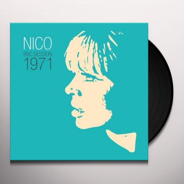 Nico BBC SESSION 1971 Vinyl Record