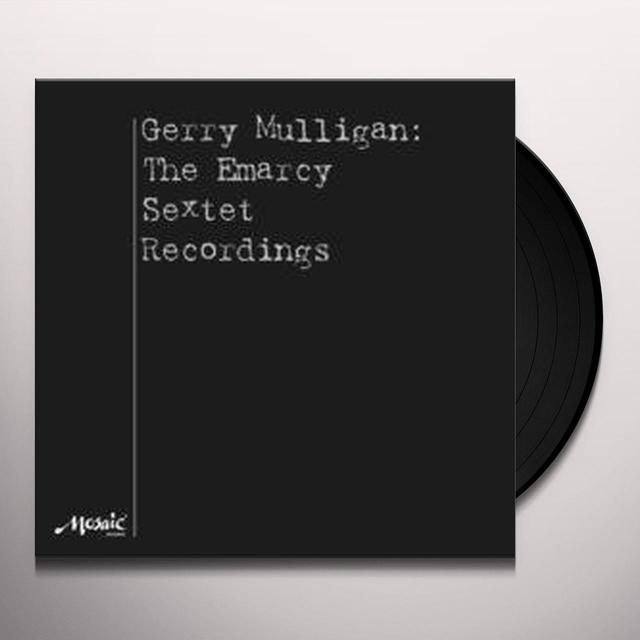 Gerry Mulligan EMARCY SEXTET RECORDINGS Vinyl Record