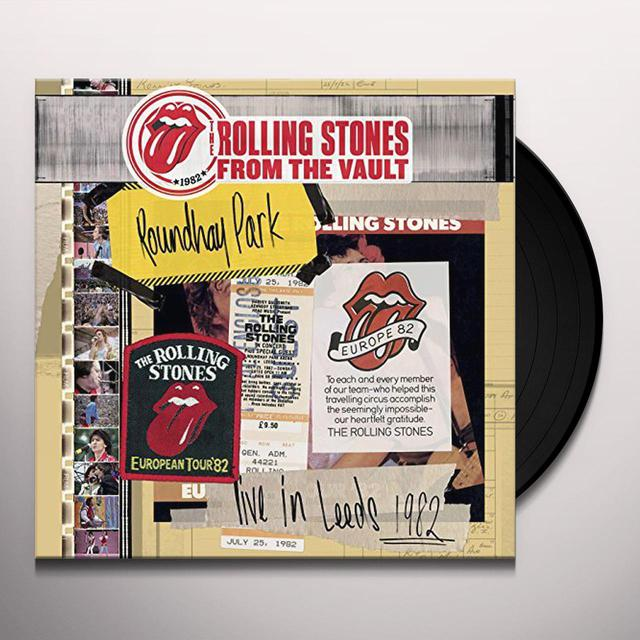 The Rolling Stones FROM THE VAULT: LIVE IN LEEDS 1982 (W/DVD) Vinyl Record - Gatefold Sleeve