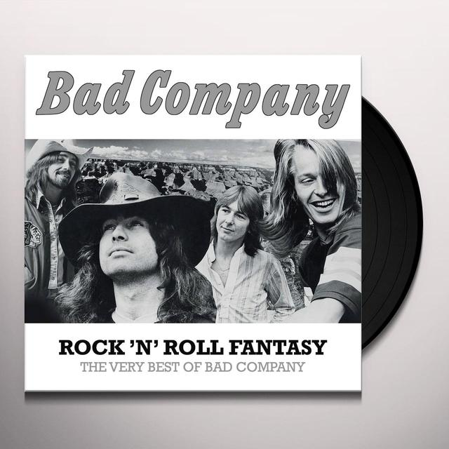 ROCK N ROLL FANTASY: THE VERY BEST OF BAD COMPANY Vinyl Record