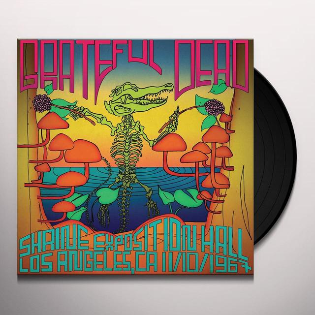 Grateful Dead SHRINE AUDITORIUM LOS ANGELES CA 11/10/1967 Vinyl Record