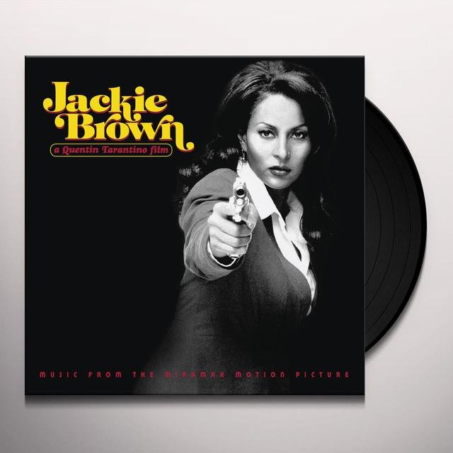 JACKIE BROWN: MUSIC FROM MIRAMAX MOTION PICTURE Vinyl Record