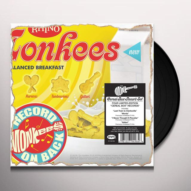 Monkees CEREAL BOX RECORDS Vinyl Record