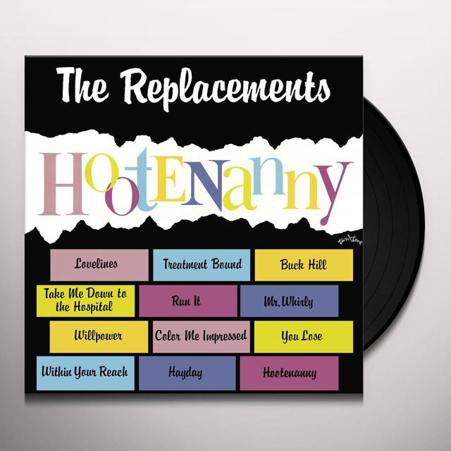 The Replacements HOOTENANY Vinyl Record