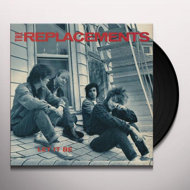 The Replacements LET IT BE Vinyl Record
