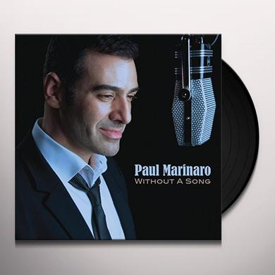 Paul Marinaro WITHOUT A SONG Vinyl Record - Deluxe Edition, Digital Download Included