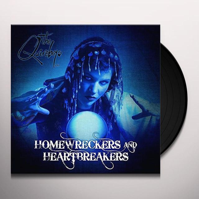 Quireboys HOMEWRECKERS & HEARTBREAKERS Vinyl Record