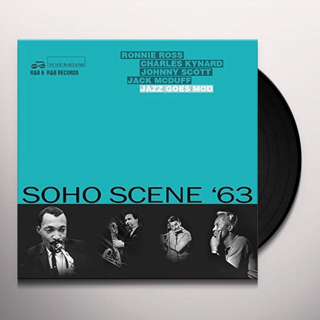 SOHO SCENE '63 (JAZZ GOES MOD) / VARIOUS Vinyl Record