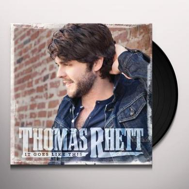 Thomas Rhett IT GOES LIKE THIS Vinyl Record