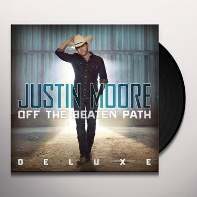 Justin Moore OFF THE BEATEN PATH Vinyl Record