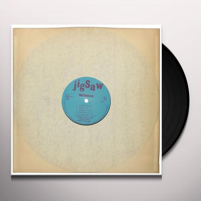 Mabrak DRUM TALK Vinyl Record