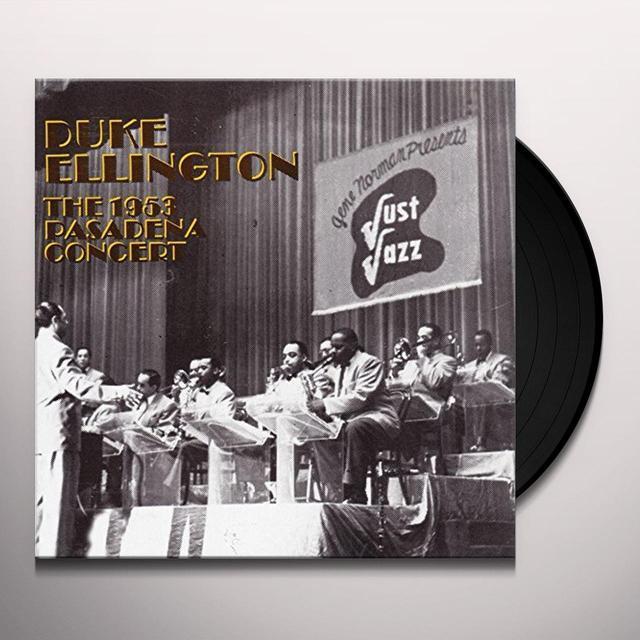 Duke Ellington 1953 PASADENA CONCERT Vinyl Record