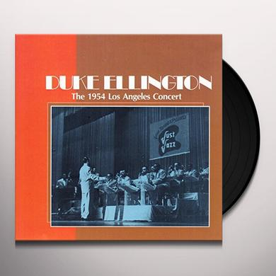 Duke Ellington 1954 LOS ANGELES CONCERT Vinyl Record
