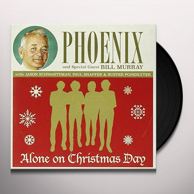 Phoenix ALONE ON CHRISTMAS DAY Vinyl Record - UK Import