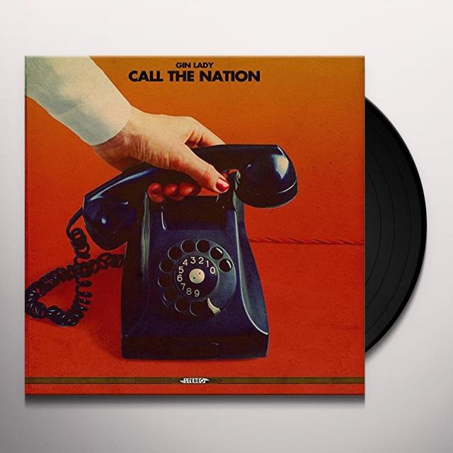 Gin Lady CALL THE NATION Vinyl Record - UK Import