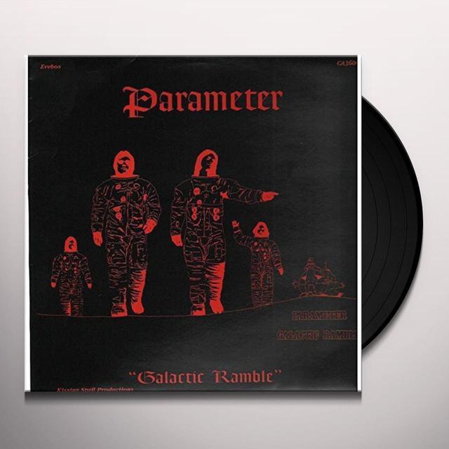 PARAMETER GALACTIC RAMBLE Vinyl Record - UK Import