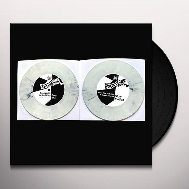 NEW DIRECTIONS IN FUNK: PEEP THIS / SLOW MOTION Vinyl Record