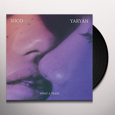 Nico Yaryan WHAT A TEASE Vinyl Record - UK Release