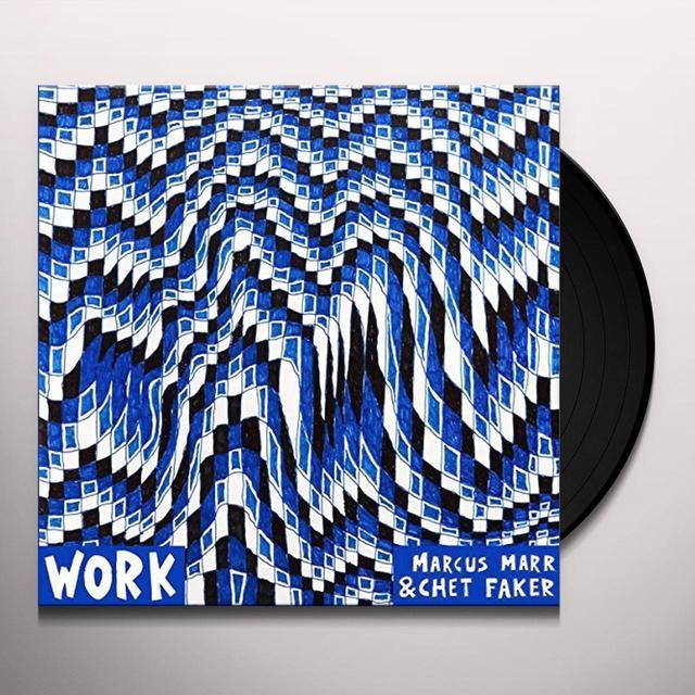 Marcus Marr, Chet Faker WORK EP Vinyl Record - UK Import