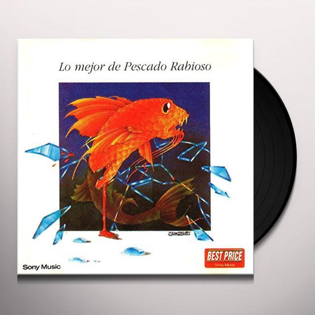 Pescado Rabioso LO MEJOR DE (ARG) Vinyl Record
